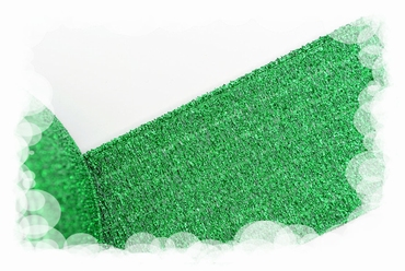 Glitterelastiek, groen, 40mm breed
