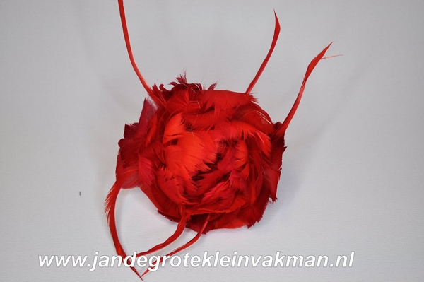 Veren corsage rood, small