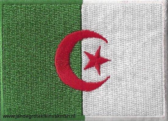 Algerije, applicatie opstrijkbaar, 83mm x 58mm