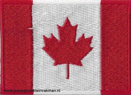 Canada, applicatie opstrijkbaar, 83mm x 58mm