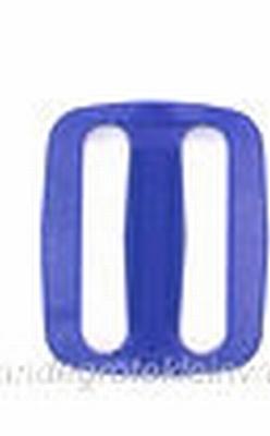 Gesp, kunststof, blauw, 30mm