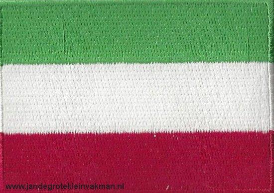 Hongarije, applicatie opstrijkbaar, 83mm x 58mm