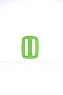 Gesp, kunststof, groen, 30mm
