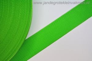 Koppelband, groen, 40mm, prijs per meter