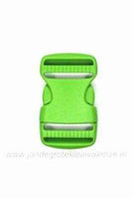 Insteekgesp, kunststof, groen, 30mm