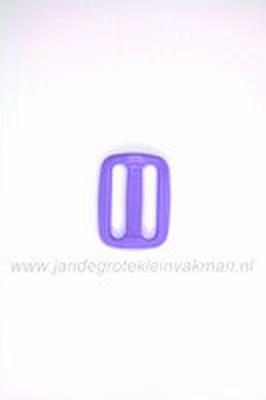 Gesp, kunststof, lila, 25mm