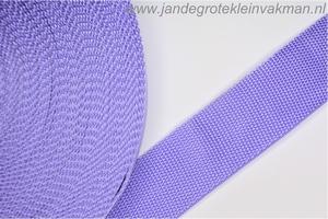 Koppelband, lila, 40mm, prijs per meter