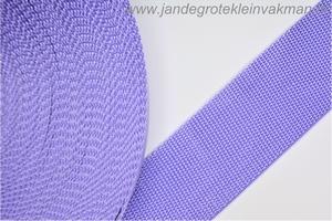 Koppelband, lila, 50mm, prijs per meter