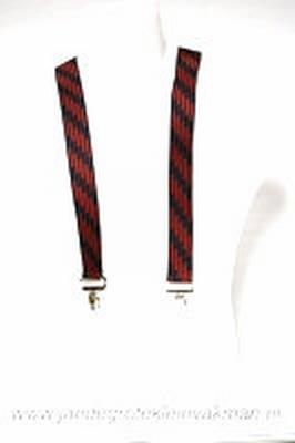 Bretel 35mm breed, met fraaie modieuze print, ca.115cm lang