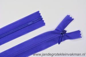 Blinde rits, 50cm, kleur 029, paars