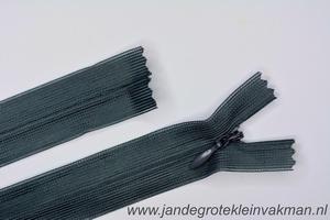 Blinde rits, 50cm, kleur 182, midddengrijs