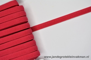 Kledingelastiek, 5mm breed, cerise, per meter