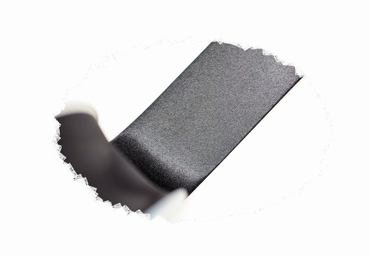 Biasband, satijn, 30mm breed, zwart, per meter