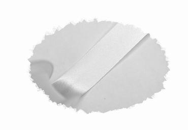 Biasband, satijn, 20mm breed, wit, per meter