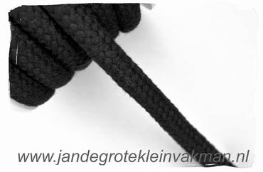 Vulkoord, Ø10mm, zwart
