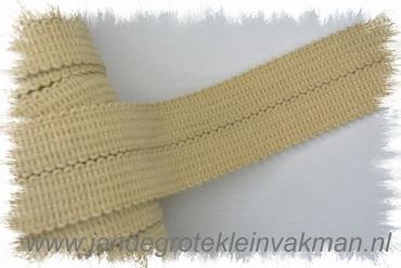 Tresband, 75% acril / 25% polyester, lichtbeige