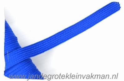 Veterband, synthetisch, 12mm breed, per meter, kobalt