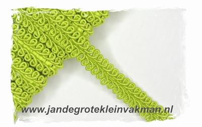 effen meubelband, 11mm breed, viscosemenging, per meter