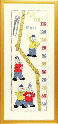 Buurman & Buurman meetlat, 30x67cm
