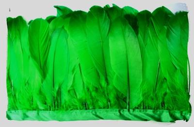Verenband, ca. 130mm hoog, 60gram per meter, groen