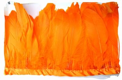 Verenband, ca. 130mm hoog, 60gram per meter, oranje