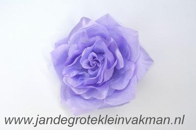 Bloemcorsage, bijzonder natuurgetrouw, lavendel