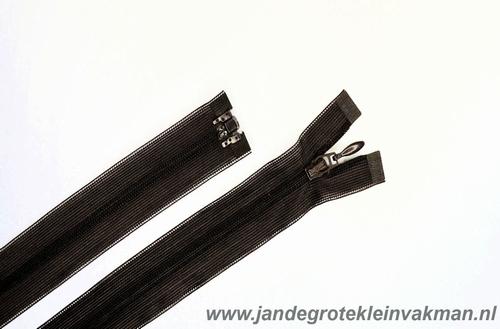 Blinde rits deelbaar, 45 cm, kleur 570, bruin