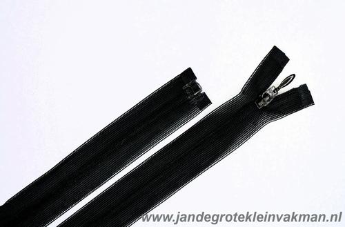 Blinde rits deelbaar, 55 cm, kleur 580, donkergrijs