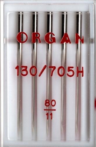Organ naaimachine naalden, standaard 80