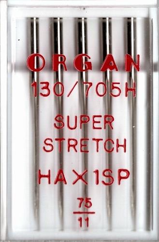 Organ naaimachine naalden, Super Stretch