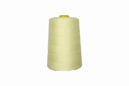 Lockgaren, polyester, ecru, 3000yrds, prijs per stuk