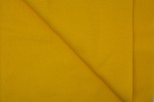Boordstof, effen geel, rondgeweven, 40cm hoog, Ø 38cm