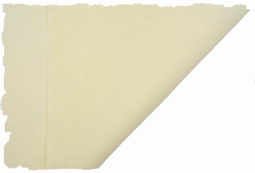 Hobbyvilt, lapje van 30cm x 20cm, kleur ecru