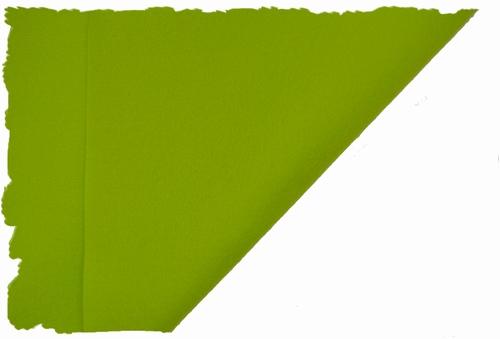 Hobbyvilt, lapje van 30cm x 20cm, kleur lichtgroen