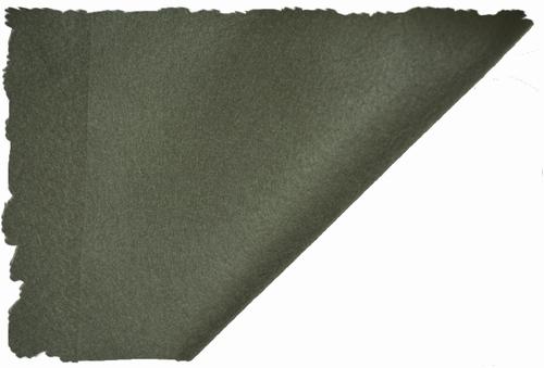 Hobbyvilt, lapje van 30cm x 20cm, kleur donker olijf