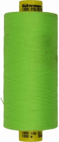 Gütermann naaigaren fluor-groen