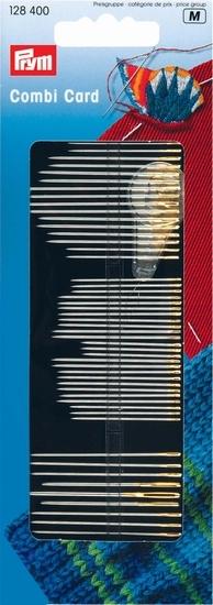 Prym combikaart naainaalden, stopnaalden en borduurnaalden