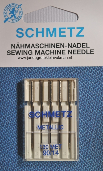 Schmetz naaimachine naalden, metallic
