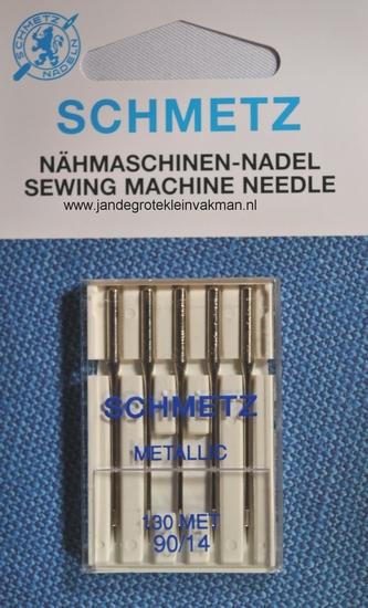 Schmetz naaimachine naalden, metallic