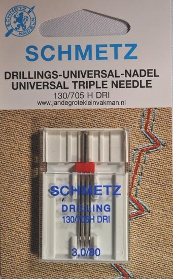 Schmetz naaimachine naalden, drieling