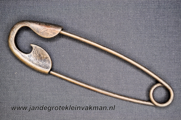 Kiltspeld, 105mm, per stuk, bronskleurig