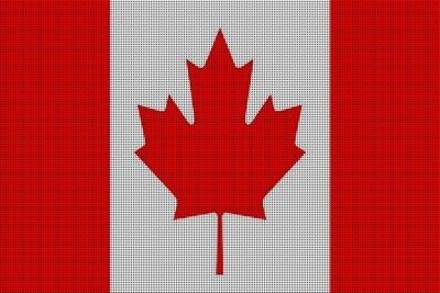 Landenvlag Canada, 155cm x 90cm