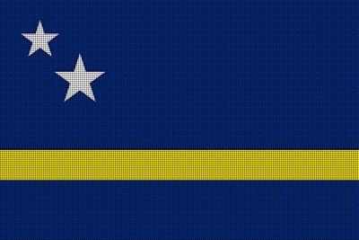 Landenvlag Curaçao, 155cm x 90cm