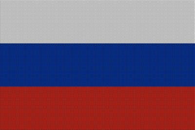 Landenvlag Rusland, 155cm x 90cm