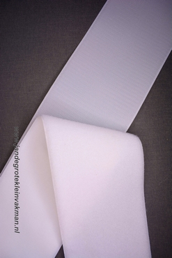 Klittenband YKK, opnaaibaar per meter, 100mm breed, wit
