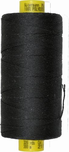 Gütermann naaigaren, zwart