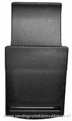 Klepgesp, kunststof, zwart, 50mm