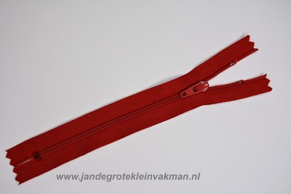Rokrits, 18cm, kleur 519, rood
