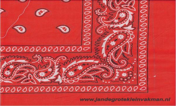Bandana rood