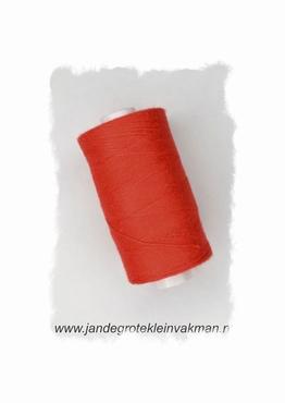 Rijggaren, kleur rood, klos van 300 mtr.